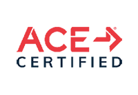 ACE certification logo